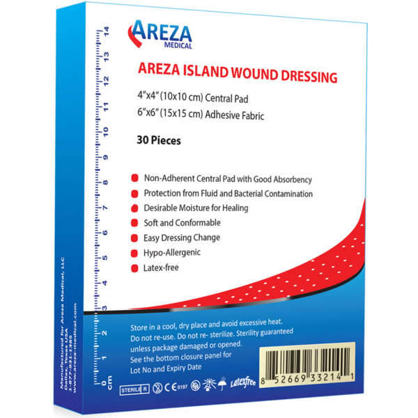 Bordered Gauze (Island Dressing) 6