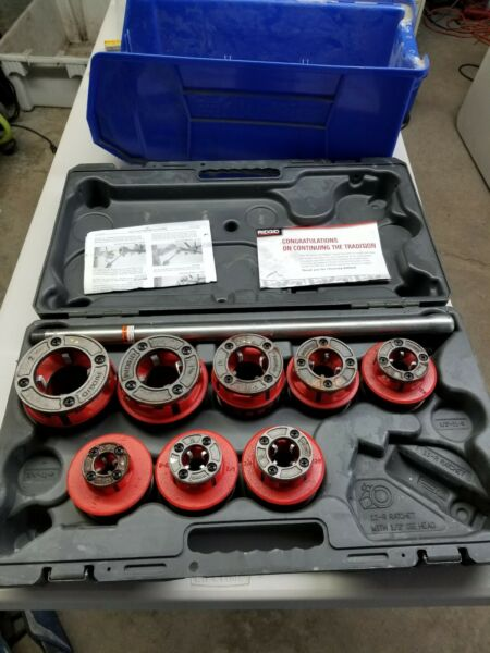 Rigid Pipe Threading Set & Case ( Partial)