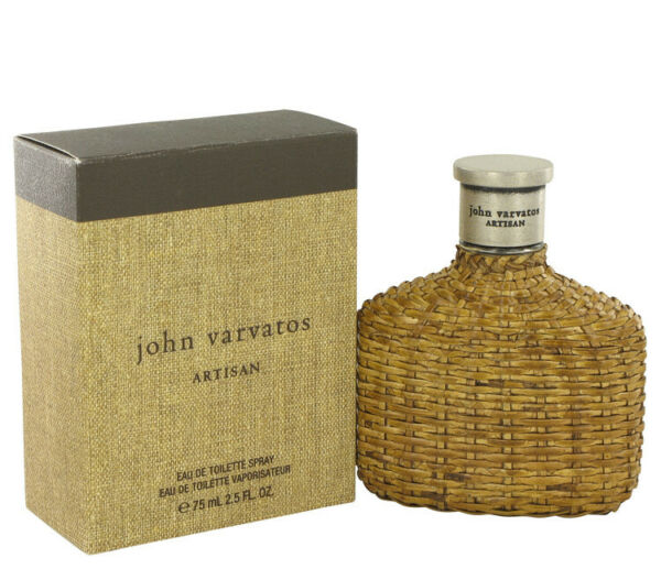 John Varvatos Artisan Cologne 2.5 Oz 75 ml Edt Spray For Men New In Box