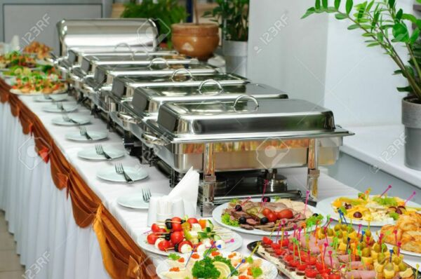 Buffet Chafing Dishes 6 PACK Full Size Catering 8 Qt Chafer Pan Food Warmer Dish