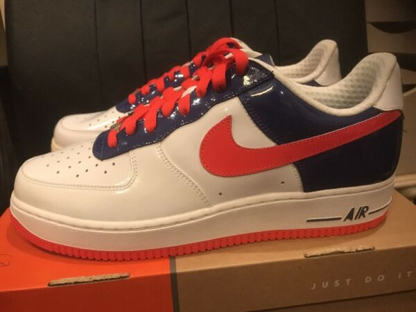 NIKE AIR FORCE ONE LOW WORLD CUP SOUTH KOREA SIZE 10.5 NEW DS 100% AUTHENTIC