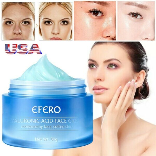 Pure 100% Hyaluronic Acid Face Serum Face Collagen Anti Aging Wrinkle Cream USA