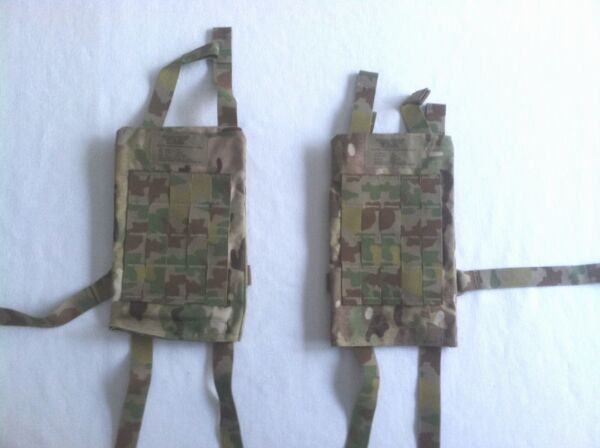 Soldier Plate Carrier System Cummerbund Pair XSm Sm Made in USA 1 pair $15.00