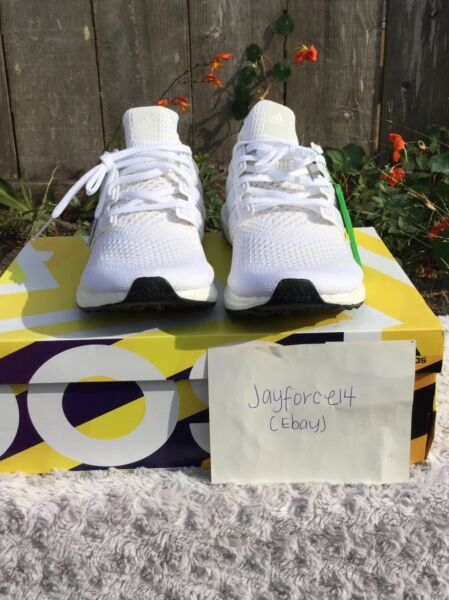 NEW adidas ultra boost 1.0 White Size 12.5 Rare Yeezy