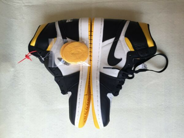 Nike Air Jordan 1 Retro High OG NRG Varsity Maize Yellow 861428-107 Size 9.5