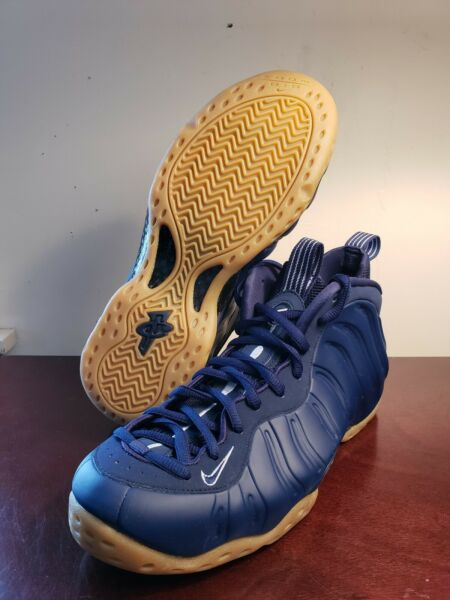 Nike Air Foamposite One 'Midnight Navy' Basketball Shoes 314996-405 Size 8