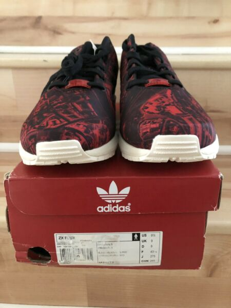 DS New in Box adidas ZX Flux Moscow Size 9.5 M21775 RARE 1/150 Yeezy Boost