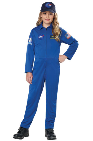 NASA Jumpsuit Astronaut Child Costume