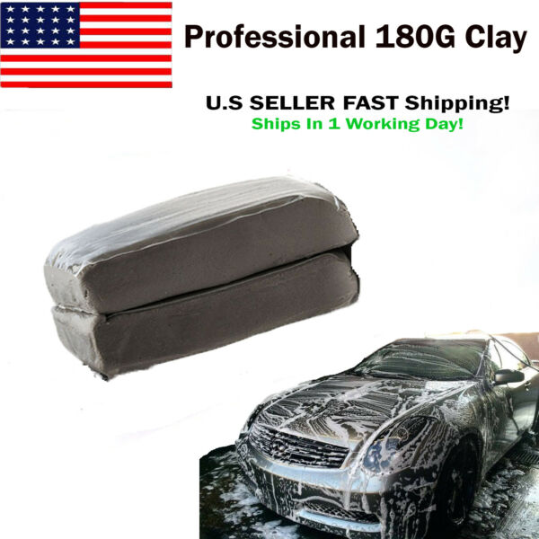 Clay Bar For Auto Detailing Made In Japan Removes Paint Contamination-Ships1Day