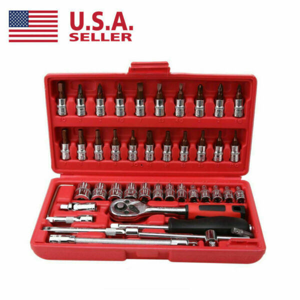 46pcs Spanner Socket Set 14