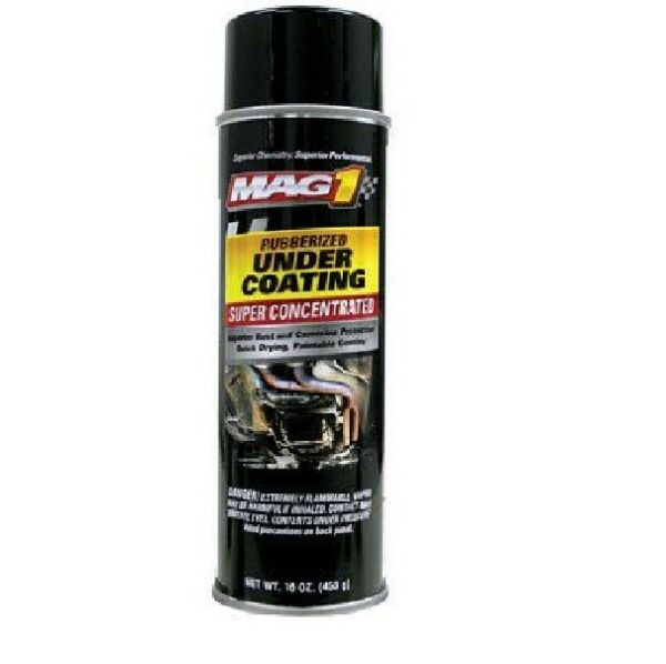 (6) MAG1 16 OZ. CONCENTRATED RUBBERIZED UNDER COATING SPRAY MAG00432