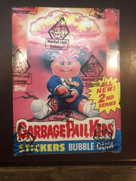 Garbage Pail Kids GPK OS2 2nd Series 2 Full Box BBCE 48  WAX Packs New Authentic