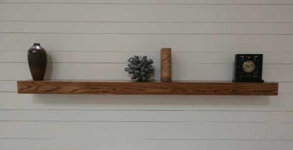 Box Beam Style Floating Mantel Mantle Shelf Fireplace Wall Decorative Custom