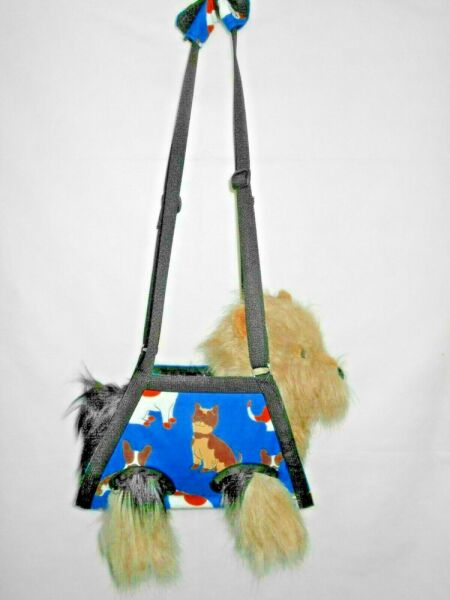 SMM BREED: XS-XXXL BLUE DOG BREEDS PET NAIL GROOMING MULTI-USE SLING CARRIER