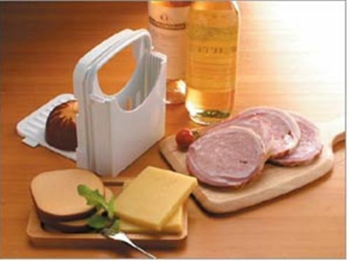 Kitchen Portable Bread Toast Slicer Cutter Maker Mold Kitchen Guide Slicing