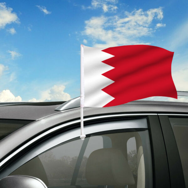 Bahrian Car Flag 18