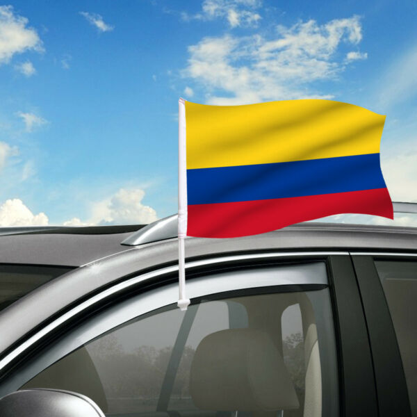 Colombia Car Flag 18