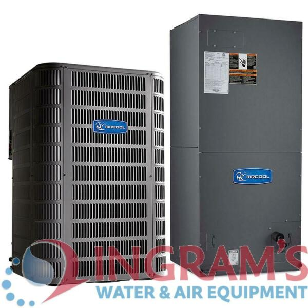 MHP15048AMAHM048CTA 4 Ton 14 SEER Multi Speed MrCool Signature Central Heat Pum $2394.48