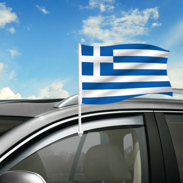 Greece Car Flag 18