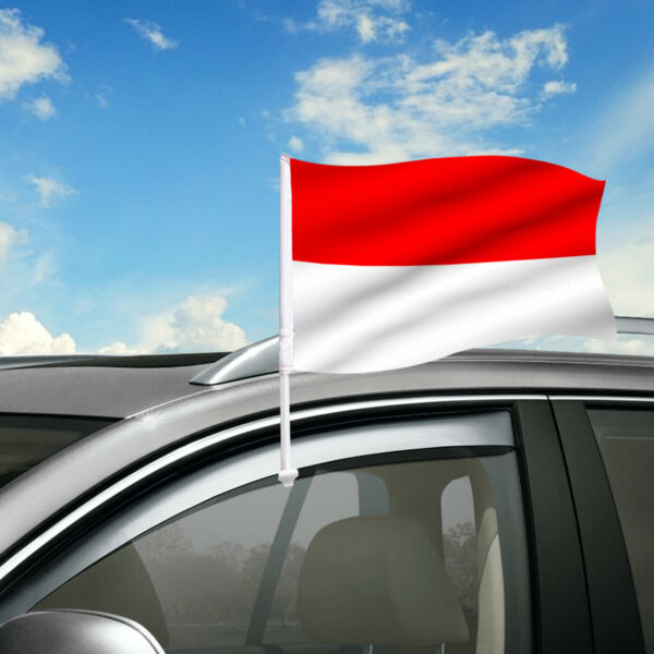 Indonesia Car Flag 18