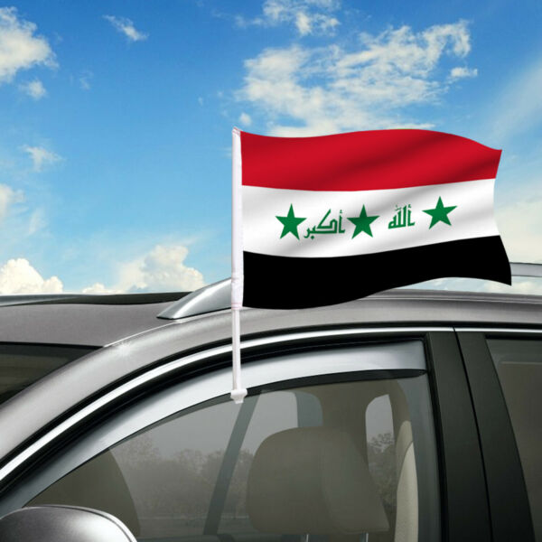 Iraq Car Flag 18