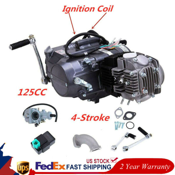 125cc 4 Stroke Engine Motor Motorcycle Dirt Pit Bike for Honda CRF50 XR50 CRF70 $269.00