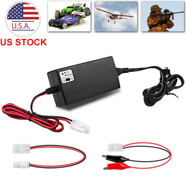 Universal Fast Battery Charger for 6V 12V NiMH NiCd RC Battery Pack Intelligent