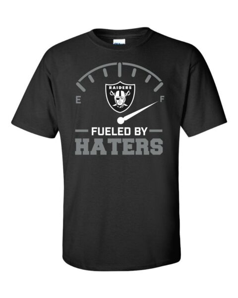 Raiders Fueled By Haters t-shirt Oakland Los Angeles football FREE SHIPPING