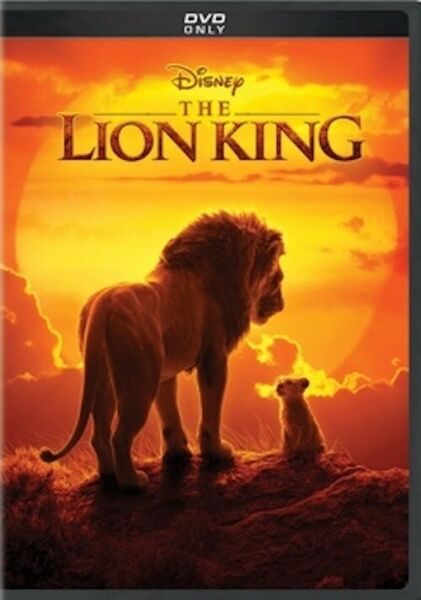 Lion King 2019 (Live Action) DVD Brand New Factory Sealed FREE SHIPPING 1022