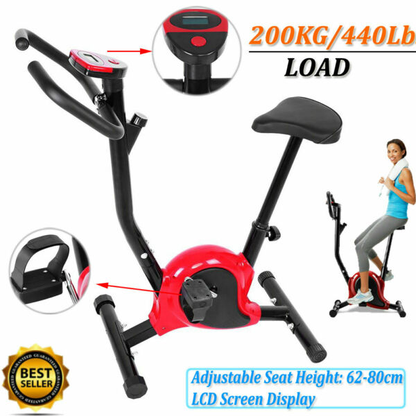 Bicycle Cycling Exercise Bike Stationary Fitness Cardio Home Workout Gym Indoor $82.26