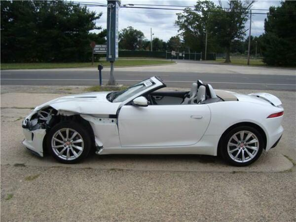 2015 Jaguar F-Type V6 FType Convertilbe Salvage Rebuildble Repairable 2015 Jaguar F-TYPE Salvage Rebuildable Repairable Project Wrecked Damaged