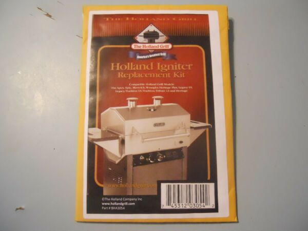 Holland Grill Igniter Replacement Kit - PN BHA3054 - Brand New