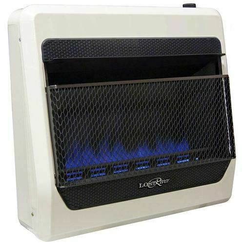 Lost River Recon Dual Fuel Ventless Blue Flame Heater - 30K BTU  T-Stat Control