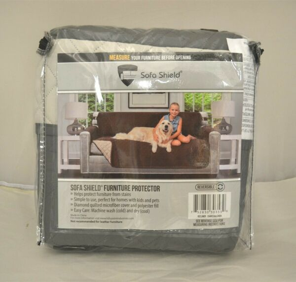 Sofa Shield Original Reversible Recliner Slipcover with 2 Inch Strap Hook $24.95