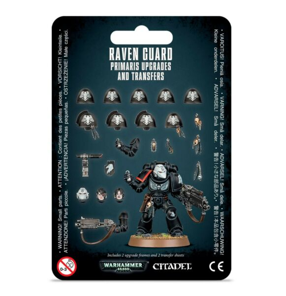 Raven Guard Primaris Upgrades & Transfers Space Marines Warhammer 40K Blister
