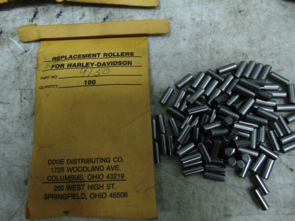 Genuine Harley Replacement Rollers STD Qty 25 P N: 9150 $17.95