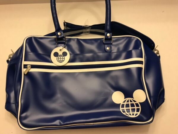 NEW Disney Parks Retro Flight Gym Travel Bag Walt Disney World Disneyland Mickey $49.99