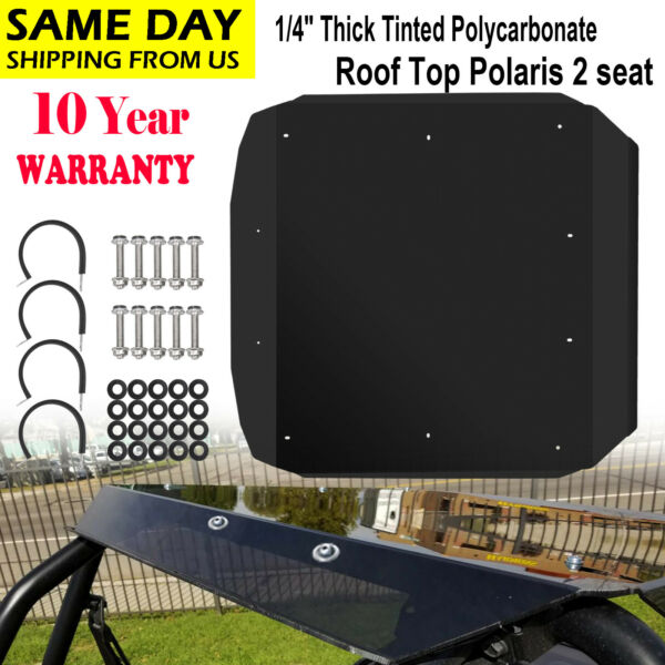 Tinted Polycarbonate RZR Roof For 2014 2020 Polaris XP 1000 TURBO900 STrail $109.90