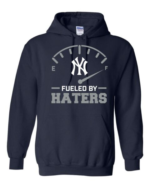 New York Yankees Fueled By Haters S-5XL Hoodie NY Yanks Bronx NY baseball