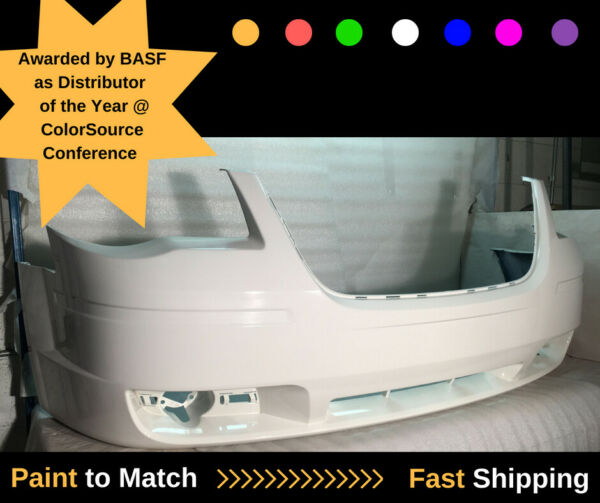08 09 10 TOWN & COUNTRY FRONT BUMPER GENUINE OEM PAINTED WHITE 1BG23TZZAA