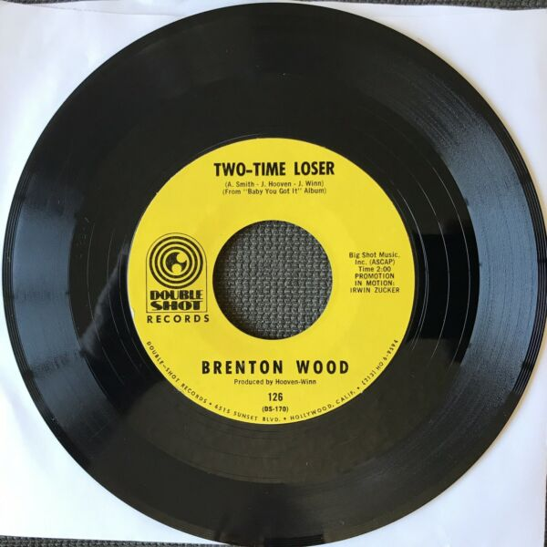 BRENTON WOOD quot;TWO TIME LOSER LOVEY DOVEYquot; 45 Double Shot Records 126 VG