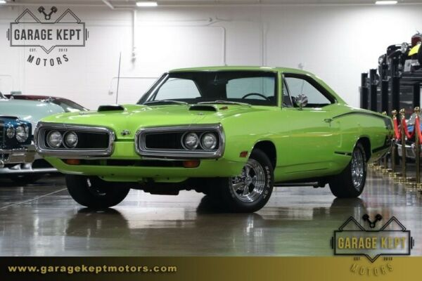 1970 Dodge Coronet Super Bee 1970 Dodge Coronet Super Bee Sublime Coupe 440 Six Pack V8 13852 Miles