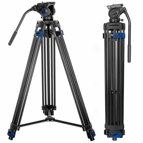 Heavy Duty 1.8M Professional Tripod Fehorily FT 818 Video Camcorder DSLR Studio