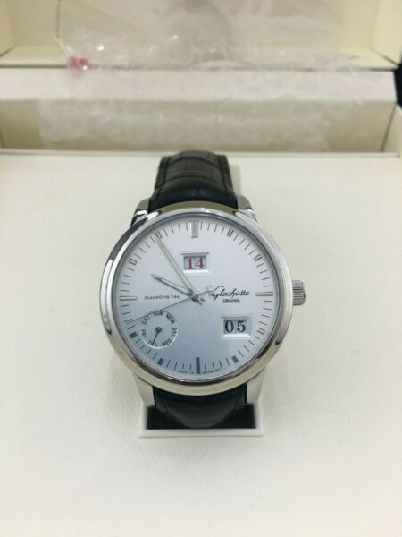 Glashütte Original Senator WEEK Calendar 10005130204 Wrist Watch for Men
