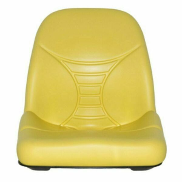 John Deere Yellow High Back Seat fits Z335E Z225 Z425 Z445 EZTRAK AM140435 #UV