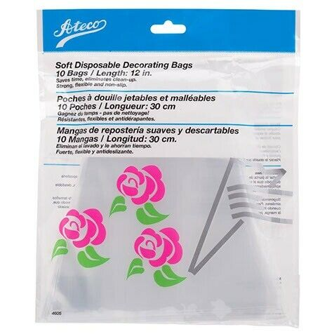 Ateco 12quot; Disposable Bags Pack of 10 $17.95