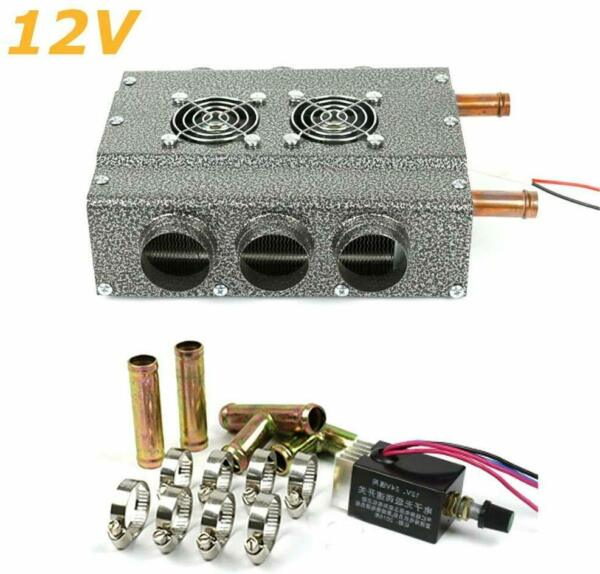 Universal DC 12V 6 Ports Car Truck Heater Automotive Eliminator Double Compact