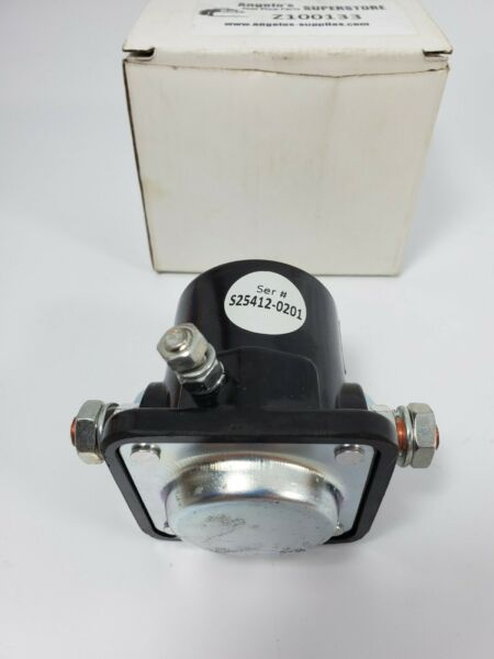 New snow plow motor solenoid for Meyer snowplows. Open box