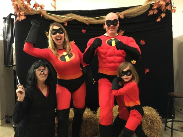 Family Coordinated Costumes: For Grandma EDNA MODE Deluxe THE INCREDIBLES $18.80