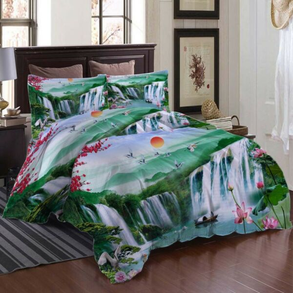 Boat A Dark Awning 3D Printing Duvet Quilt Doona Covers Pillow Case Bedding Sets